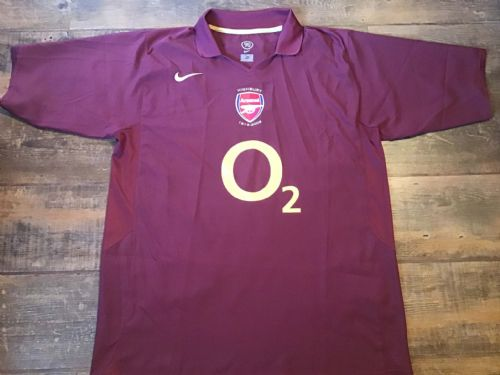 2005 2006 Arsenal Highbury Football Shirt XL